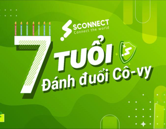 Bảy tuổi đánh đuổi Cô-vy – Chúc mừng sinh nhật Sconnect!